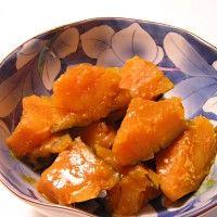かぼちゃの煮物レシピ②:味噌味のかぼちゃの煮物